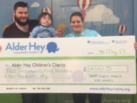 South Cheshire workers tackle Mud Run in aid of colleague's poorly son