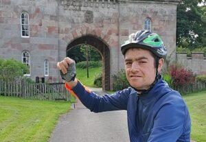 Matt cycling - Wingate Centre #20