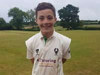 12-year-old Woore CC batsman hits unbeaten 70 against Crewe