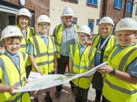 Nantwich children plan time capsule at site of new care home