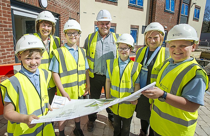 Matthew Povey, Hazel Brown, Oliver Jones, Gary Finch, Jan Obolewicz, Jackie Walker, Isaac Baxter - time capsule plan for care home