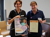 Leighton Hospital staff win national awards for patient experience