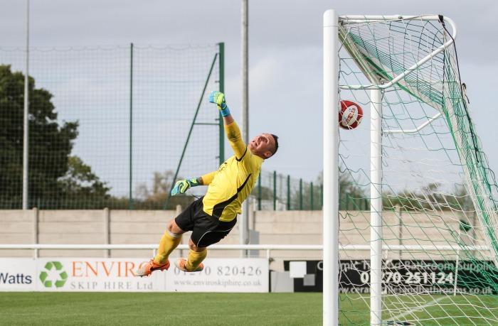 Max Harrop free-kick against Ashton United