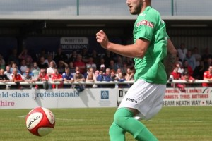 """Max Harrop """"sorry"""" to Nantwich Town fans for red card"""