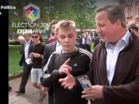 Nantwich student becomes internet star after grilling David Cameron