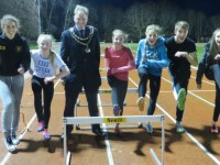 Mayor hails Crewe & Nantwich Athletics Club during visit