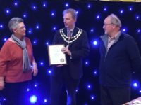 Nantwich in Bloom team honoured for Gold award