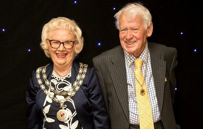 Mayor Cllr Penny Butterill_Consort Doug Butterill