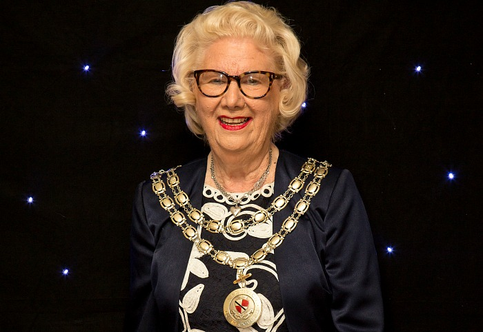 Mayor Of Nantwich, Cllr Penny Butterill