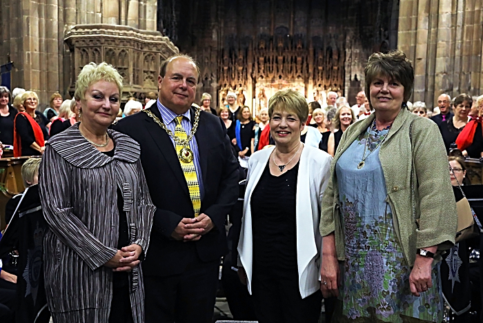 Mayor and Encore concert at St Mary's Church Nantwich