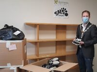 Children's shoe recycling hub launches in South Cheshire