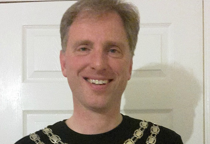 Mayor of Nantwich Cllr Andrew Martin to run London Marathon