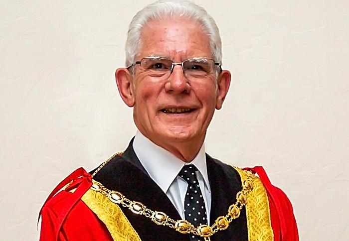 Mayor of Nantwich Councillor Arthur Morans (1)