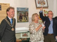 "Nantwich Mayor opens museum's ""Nantwich At Play"" exhibition"
