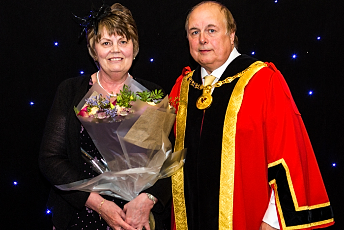 Gala - Mayor of Nantwich at Nantwich Choral Society concert