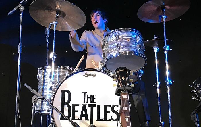Meet The Beatles - Ringo Starr on drums