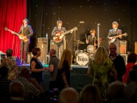 Packed Nantwich Civic Hall enjoy Meet the Beatles night