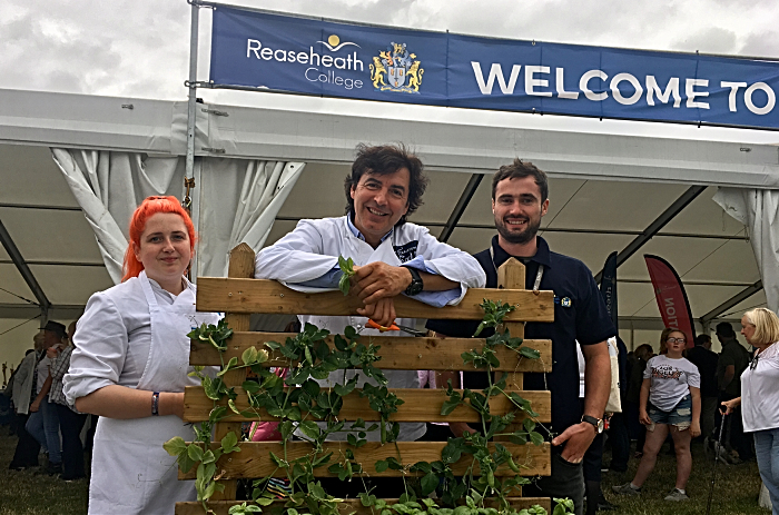 Megan Jones, Jean-Christophe Novelli, Matthew Thomas (1) - cheshire show