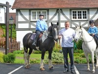 Celebrity chef Nigel Haworth teams up with Mid Cheshire Riding for the Disabled