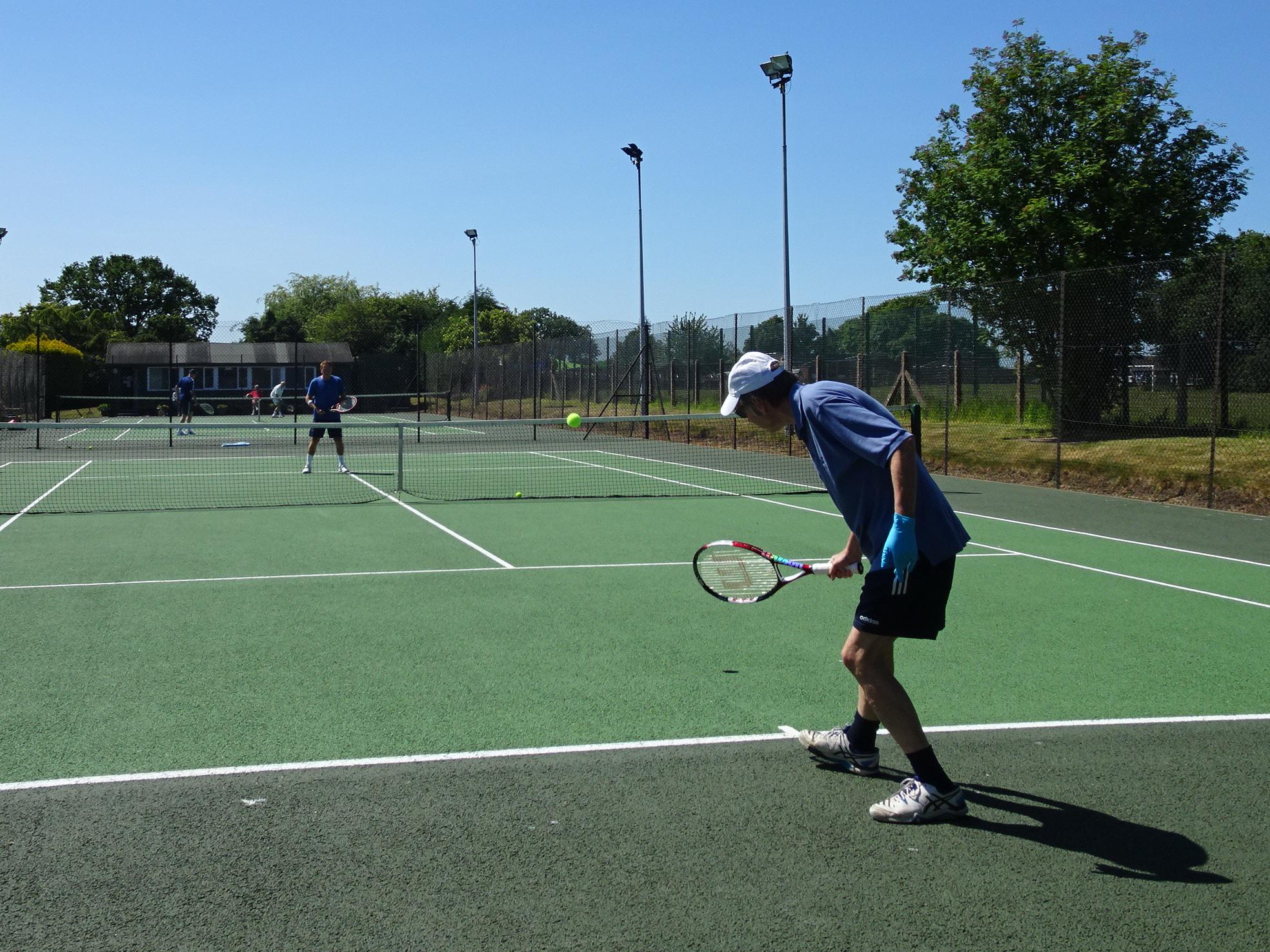 Members back on court at Wistaston Jubilee Tennis Club