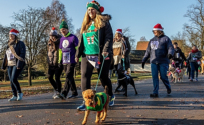 Merry Mile participants