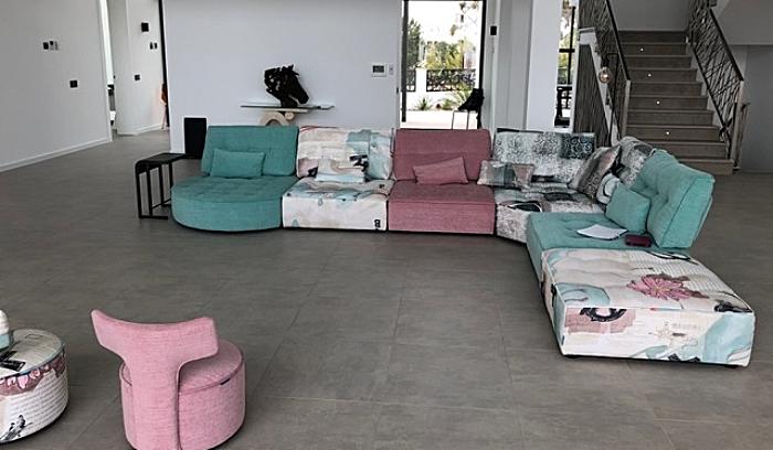 Mia Stanza sofas in Portugal villa