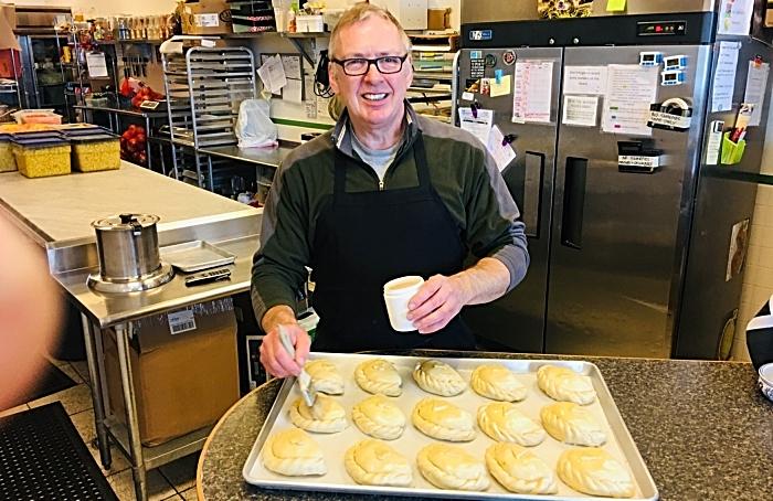 Michael burgess making pasties