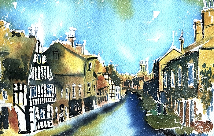 Dreams of Nantwich - Michal Obolewicz Gold of the past on Welsh Row 1024 (1)