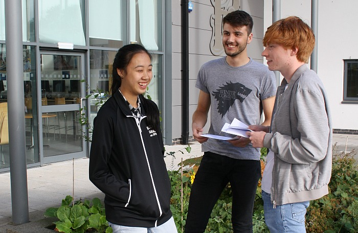 Michelle Chan, Ryan Kenyon and Charles Kerwin discuss their chosen destinations and courses