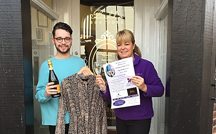 Mid Cheshire Hospitals Charity is holding a Fashion & Fizz evening to raise funds for its Everybody Knows Somebody dementia appeal