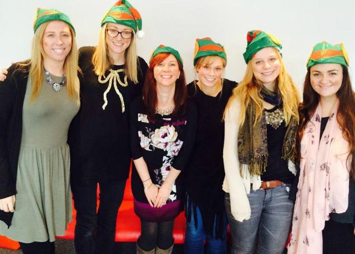 Mid Cheshire Hospitals 'elfie' campaign