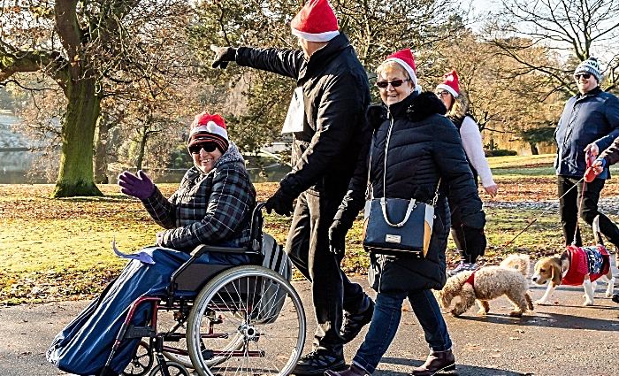 Mid cheshire hospitals charity Merry mile