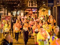 Midnight Walk ladies stroll from Nantwich to Crewe for hospice