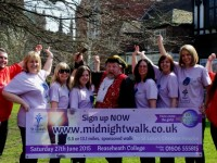 Nantwich Town Crier calls for more ladies to join hospice Midnight Walk