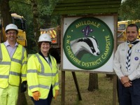 Milldale scout camp near Nantwich boosted by A500 work