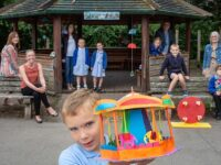 "Millfields School opens fundraising ""Fairground Trail"" in Nantwich"