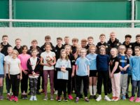 Nantwich pupils gain top football tips from young Crewe Alexandra stars
