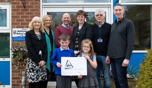 Nantwich primary school earns top marks with Governor award