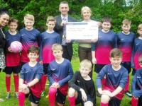 Nantwich school team boosted by Crewe Golf Club donation