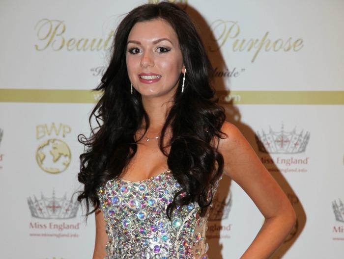 Miss Cheshire Natasha Hemmings, competing for Miss World