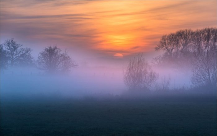 Misty Sunset by Alison Wood 1024