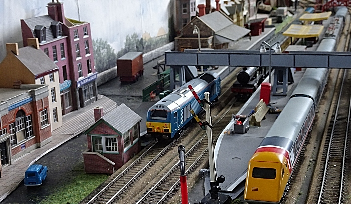 Model railway display in the Exhibition Hall (1)