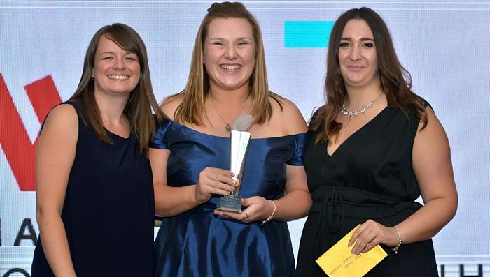 Mollie Latham NRA female player award winner