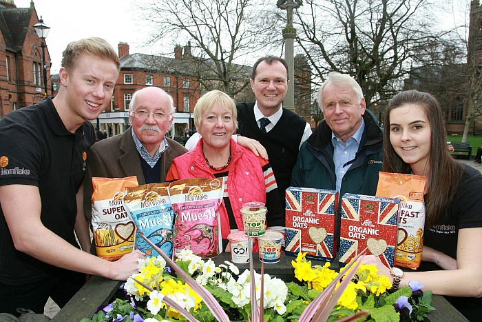 Mornflake 10th year as sponsor Nantwich Food Festival