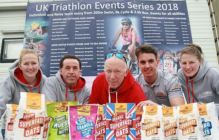 Mornflake backs UK Triathlon series