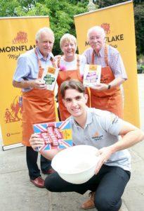 Mornflake food festival re-brand