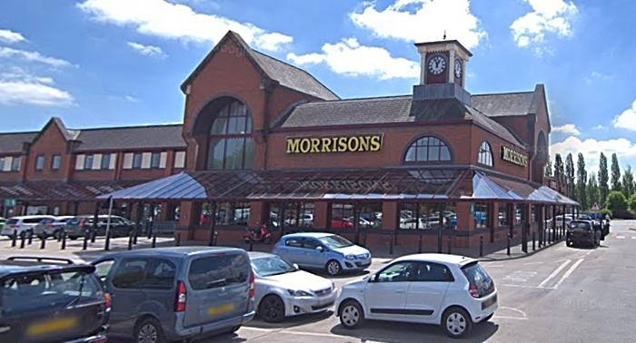 Morrisons in Dunwoody Way, Crewe