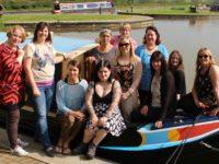 South Cheshire mums join CIC group at Church Minshull marina