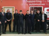 South Cheshire students open country's first college vehicle parts store