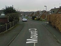 Fatal fire in Mount Close in Nantwich -  Google Street View